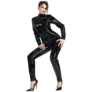 ledapol 1017 lack catsuit - fetish vinyl overall