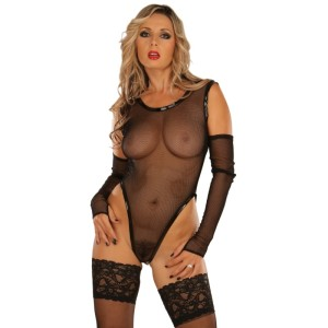 ledapol 1097 netz body - netz bodysuit dessous - sexy lingerie