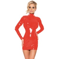 insistline 9013 minikleid - datex kurzes kleid - fetish kleid