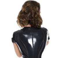insistline 9019 datex catsuit kurzarm - fetish overall stretch