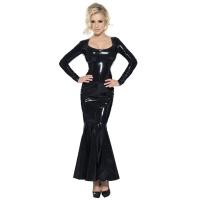 insistline 9020 datex cocktailkleid - langes kleid - fetish kleid