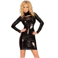 insistline 9052 minikleid - datex kurzes kleid - fetish kleid