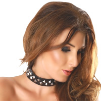 insistline 9104 datex halsfessel - fetish halsband