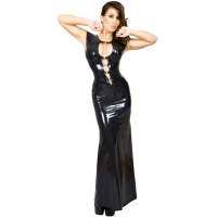insistline 9111 datex cocktailkleid - langes kleid - fetish kleid
