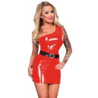 insistline 9125 minikleid - datex kurzes kleid - fetish kleid