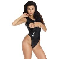 insistline 9142 datex body - fetish bodysuit busenfrei