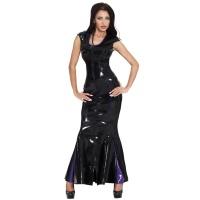 insistline 9187 datex cocktailkleid - langes kleid - fetish kleid