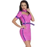insistline 9202 minikleid - datex kurzes kleid - fetish kleid