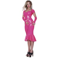 insistline 9216B datex cocktailkleid - langes kleid - fetish kleid
