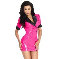 insistline 9224 minikleid - datex kurzes kleid - fetish kleid