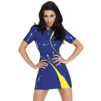 insistline 9225 minikleid - datex kurzes kleid - fetish kleid