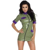 insistline 9226 minikleid - datex kurzes kleid - fetish kleid