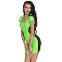 insistline 9227 minikleid - datex kurzes kleid - fetish kleid