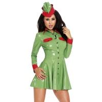insistline 9239 minikleid - datex kurzes kleid - fetish kleid