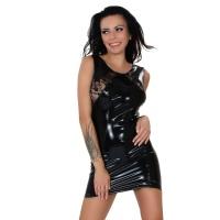 insistline 9277 minikleid - datex kurzes kleid - fetish kleid
