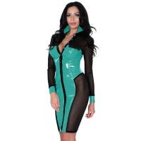 insistline 9281B fetish tüll kleid - datex kleid
