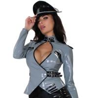 insistline 9286 datex uniform jacke - fetish militärjacke