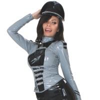 insistline 9287 datex uniform jacke - fetish militärjacke
