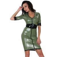 insistline 9290 minikleid - datex kurzes kleid - fetish kleid