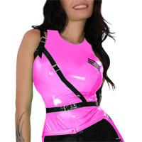 insistline 9293 datex bluse - kurze bluse - fetish bluse