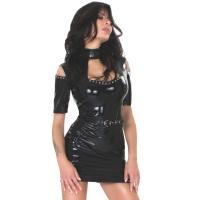 insistline 9296 minikleid - datex kurzes kleid - fetish kleid
