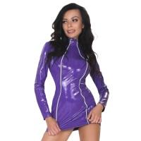 insistline 9303 minikleid - datex kurzes kleid - fetish kleid