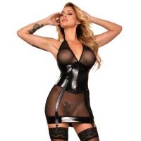 insistline 9333 tüll minikleid - datex kleid - fetish kleid