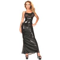 insistline 9344 datex cocktailkleid - langes kleid - fetish kleid