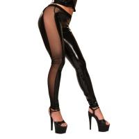 insistline 9380 datex tüll leggings - fetish damenleggings