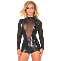 insistline 9443 datex tüll body - fetish pants bodysuit