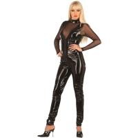 ledapol 1019 lack catsuit - fetish vinyl overall