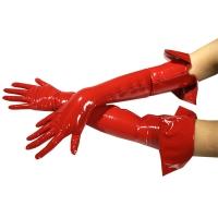 ledapol 1062 lack handschuhe - fetish vinyl handschuhe