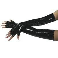 ledapol 1257 lack handschuhe - fetish vinyl handschuhe