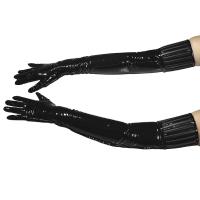 ledapol 1408 lack handschuhe - fetish vinyl handschuhe