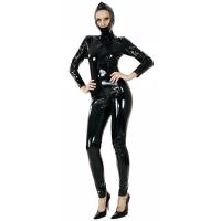 ledapol 1516 lack catsuit - fetish vinyl overall