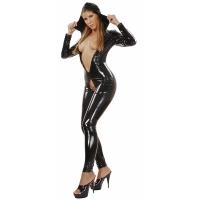 ledapol 1516 vinyl catsuit - patent overall fetish