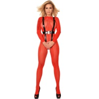 ledapol 2955 - 3D gedrucktes latex harness - latex harness set