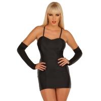 ledapol 3003 stretch kleid - stoff minikleid - sexy kleid