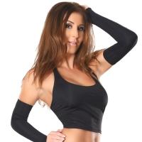 ledapol 3015 damen stoff bustier - sexy stretch top