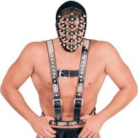 ledapol 5014 sm herren brustharness - gay leder harness