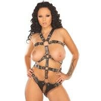 ledapol 5070 leder riemenbody - harness body damen
