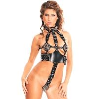 ledapol 5164 leder riemenbody - harness body damen