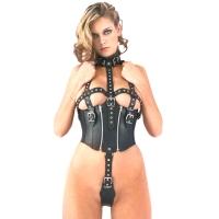 ledapol 5280 leder riemenbody - harness body damen