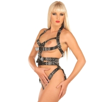 ledapol 5477 leder riemenbody - harness body damen