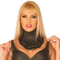 ledapol 5499 womens leather neck corset