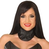 ledapol 5575 womens leather neck corset