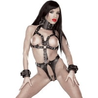 ledapol 5578 leder riemenbody - harness body damen