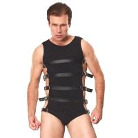 ledapol 5701 sm herren harness body - gay leder riemenbody