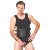 ledapol 5703 sm herren harness body - gay leder riemenbody