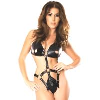 ledapol 5732 leder riemenbody - harness body damen